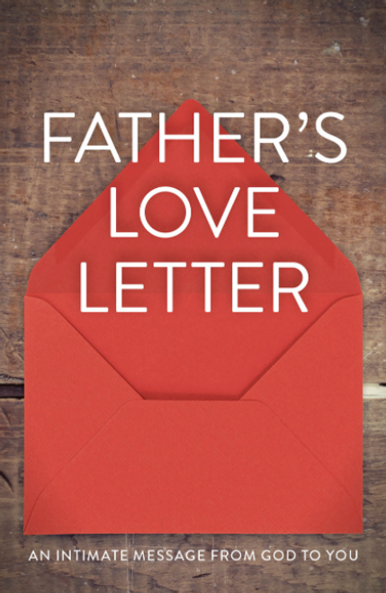 Father's Love Letter (ATS) 25-pack [Tract/Booklet]