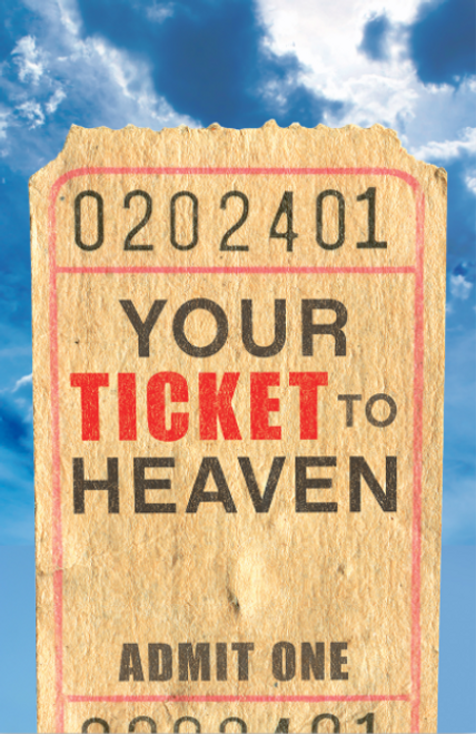 Your Ticket to Heaven ESV 25-pack [Tract/Booklet]