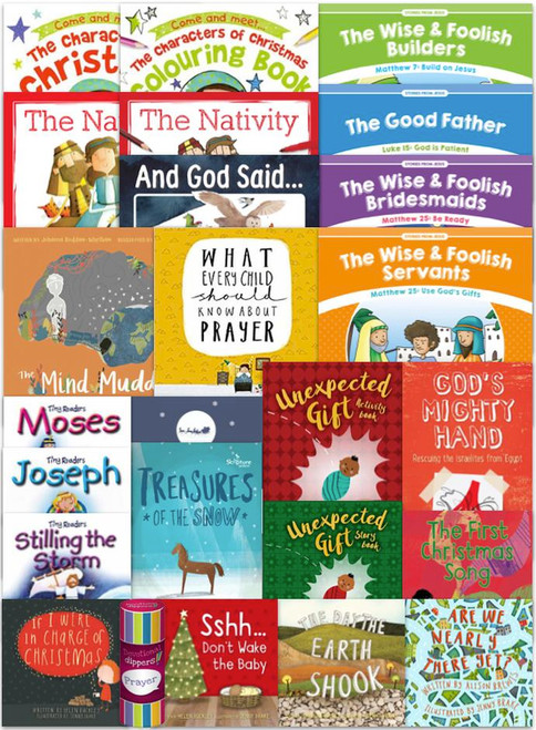 Kids' 25 Book Advent Pack [Pack]