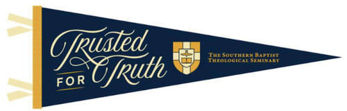 """Trusted for Truth Pennant 9"""" x 27"""" [Other]"""
