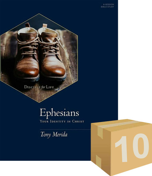 Ephesians - Bible Study Book Your Identity in Christ (Pack of 10) [Pack]