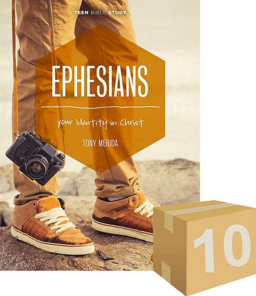 Ephesians - Teen Bible Study Book Your Identity in Christ (Pack of 10) [Pack]