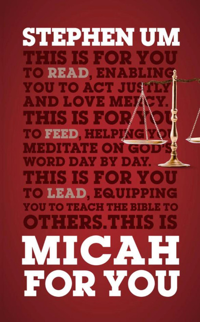 Micah For You [Paperback]