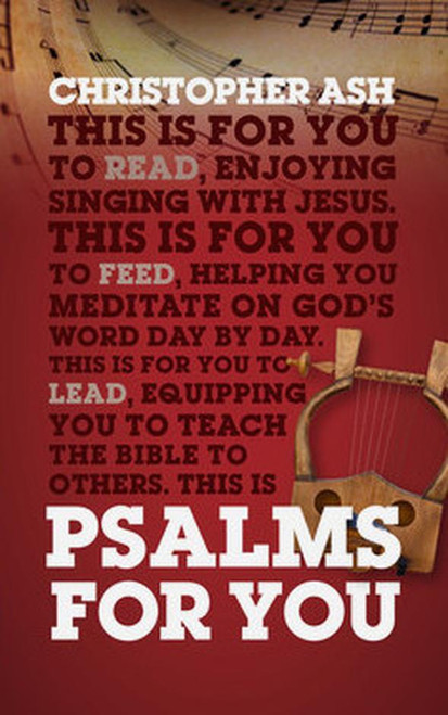 Psalms For You [Paperback]