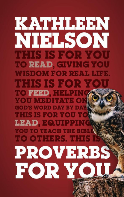 Proverbs For You [Paperback]