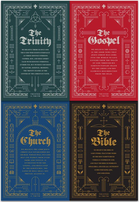 Trusted for Truth Journals 4 Pack [Pack]
