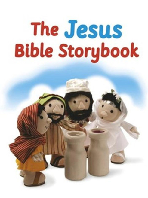 The Jesus Bible Storybook Adapted From The Big Bible Storybook [Hardback]