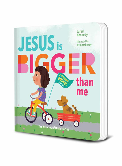 Jesus is Bigger Than Me True Stories of His Miracles [Board Book]