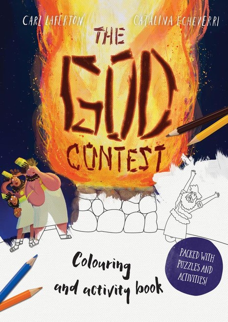 The God Contest Colouring and Activity Book Packed with Puzzles and Activities [Paperback]