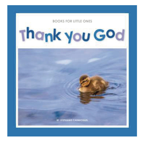 Thank You God Books for Little Ones [Booklet]
