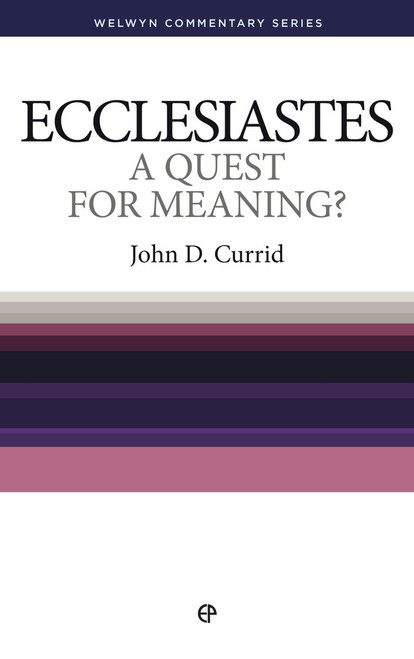 Ecclesiastes A Quest for Meaning? [Paperback]