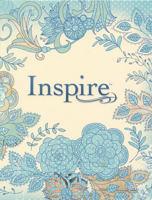 Inspire Bible NLT The Bible for Creative Journaling [Paperback]