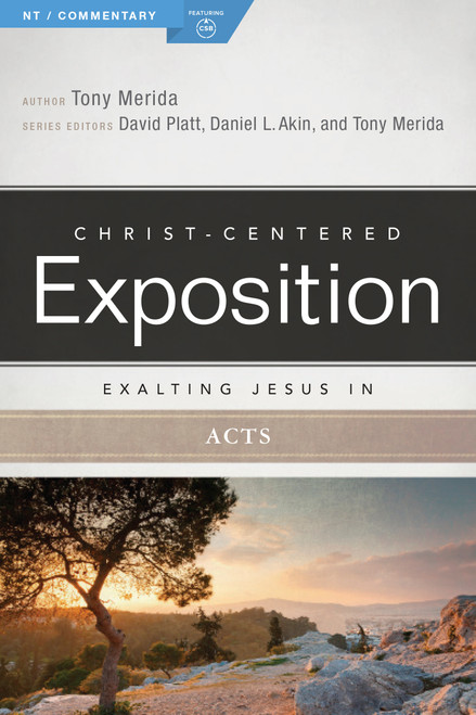 Exalting Jesus in Acts Christ-Centered Exposition Commentary [Paperback]