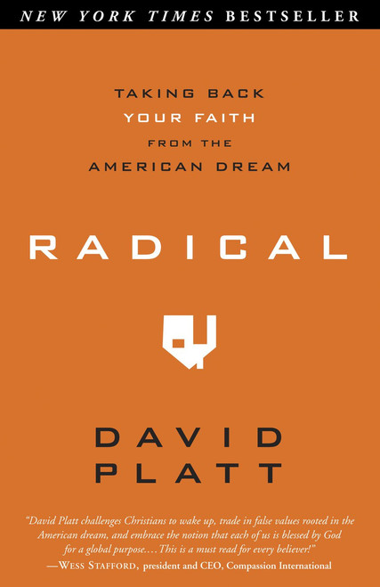 Radical Taking Back Your Faith from the American Dream [Paperback]