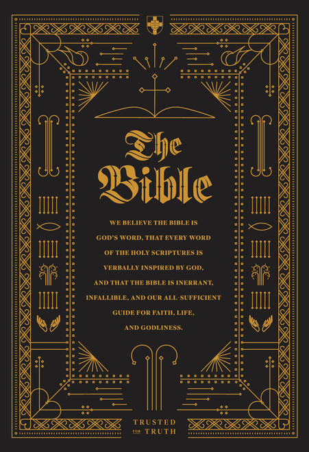The Bible Lined Notebook [Paperback]
