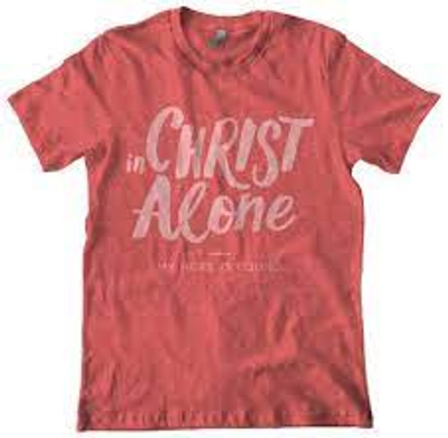 In Christ Alone T-Shirt Red [T-Shirt]
