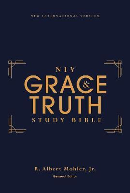 NIV Grace and Truth Study Bible Hardcover, Red Letter, Comfort Print [Leather]
