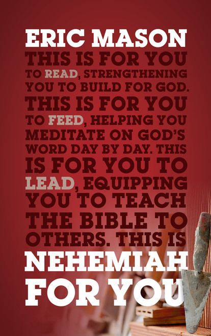 Nehemiah For You Strength to Build for God [Paperback]
