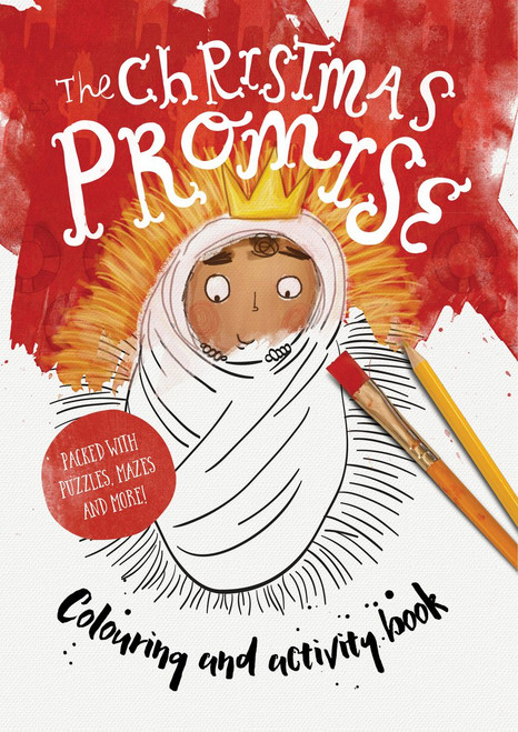 The Christmas Promise Colouring and Activity Book [Paperback]