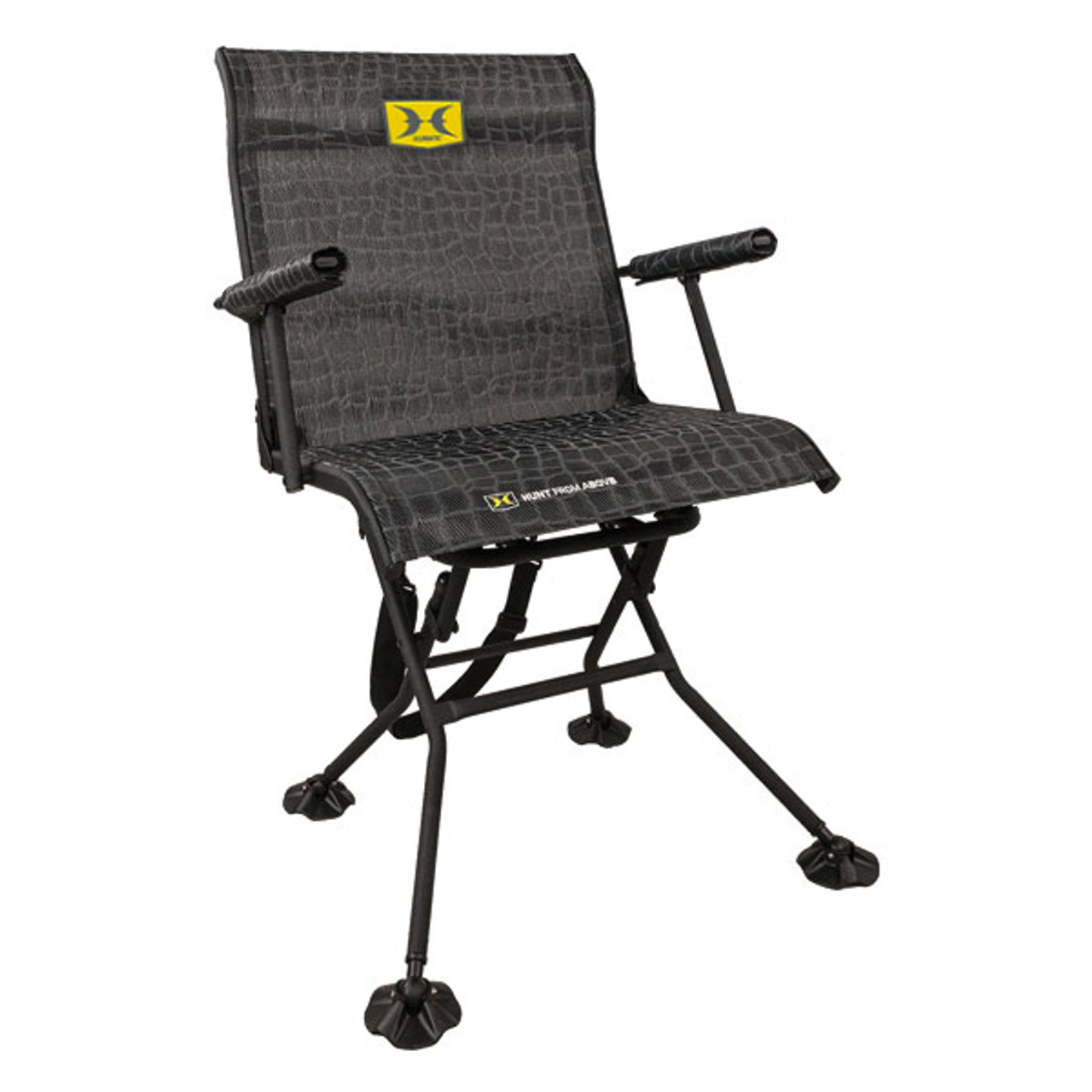 Hawk Treestands Blind Chair Stealth Spin-360 Hunting Blind 3103
