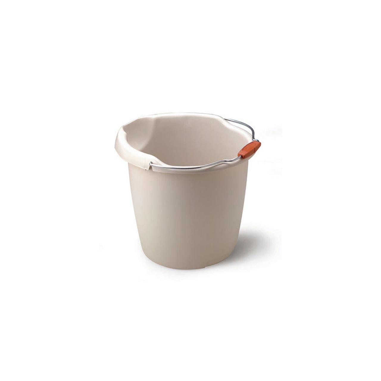 15-Quart Rubbermaid Bisque Bucket