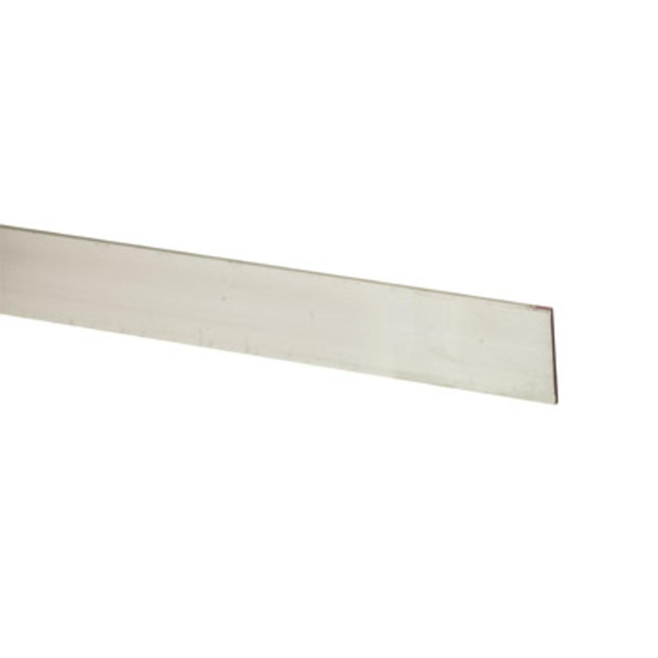 "Aluminum Flat Bar 1-1//2/"" x 1//8/"" 8 Foot Mill Finish"