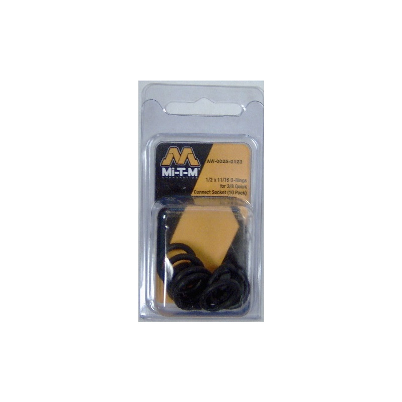 Mi-T-M Pressure Washer O-rings x 10 AW-0025-0123 AW00250123