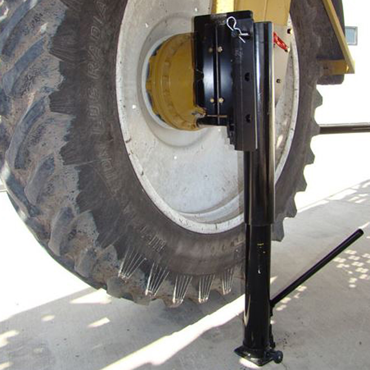 Crop Divider Add On - Tire Jack