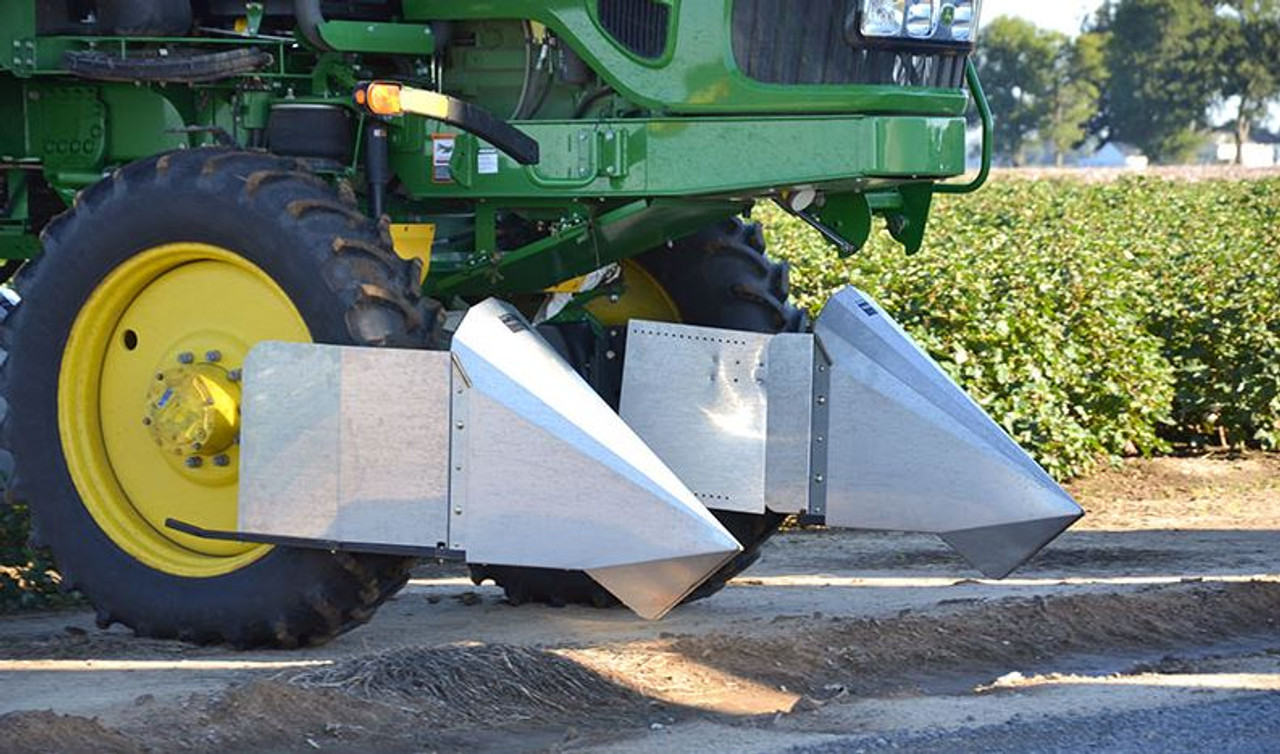 Crop Divider Deflector Extension Shield