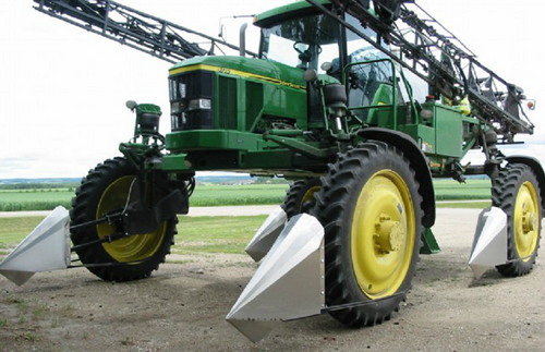 Set of CROPSAVERS (Crop Dividers) on John Deere Sprayer