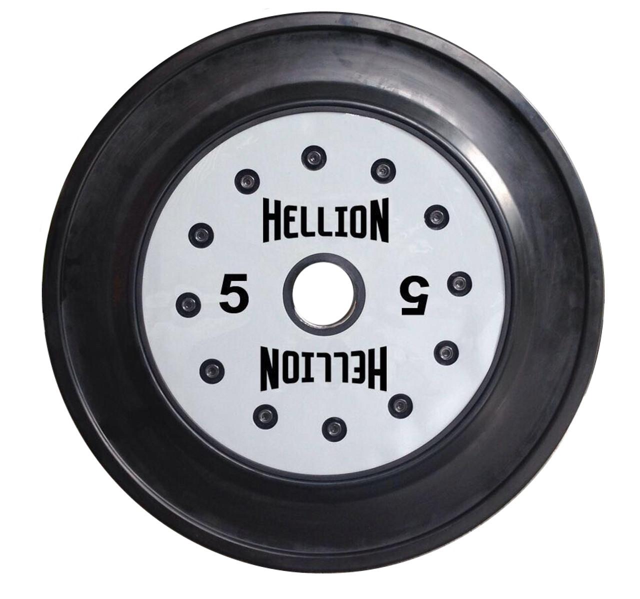 Hellion Premium Training 5 kg Bumper Plate (PAIR)
