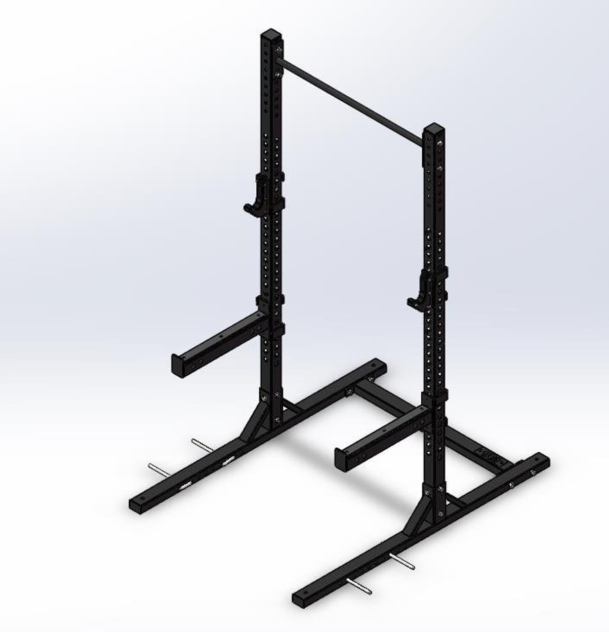 Squat Rack with single Pull up