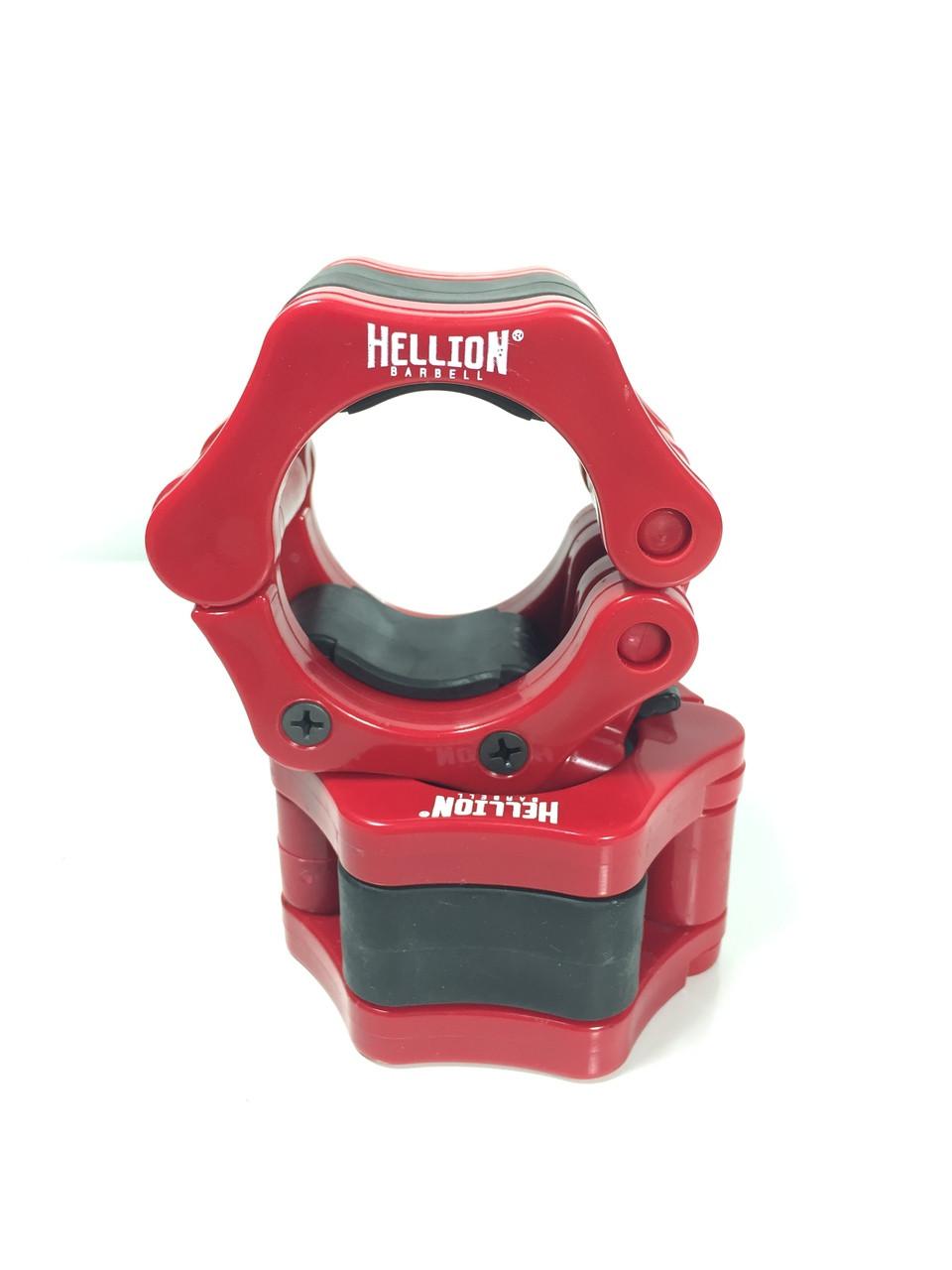 Locking Barbell Collar 50mm - Red