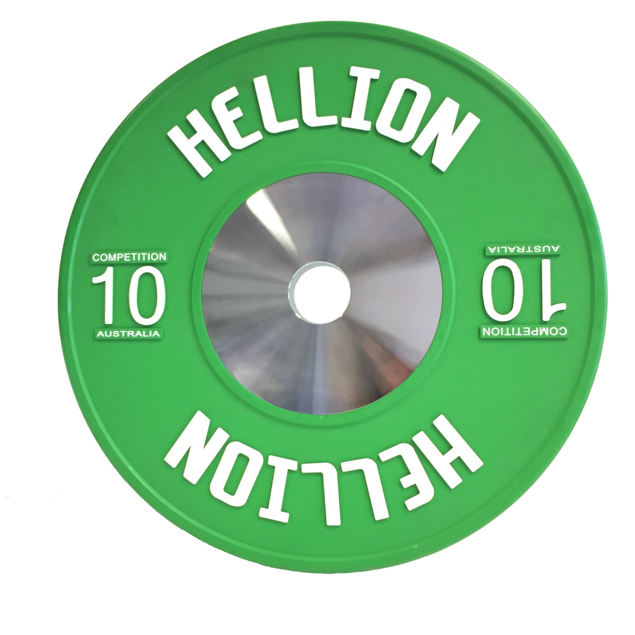 Hellion Elite Competition Bumper Plate V2.0 Raised Logo - 10kg (PAIR)