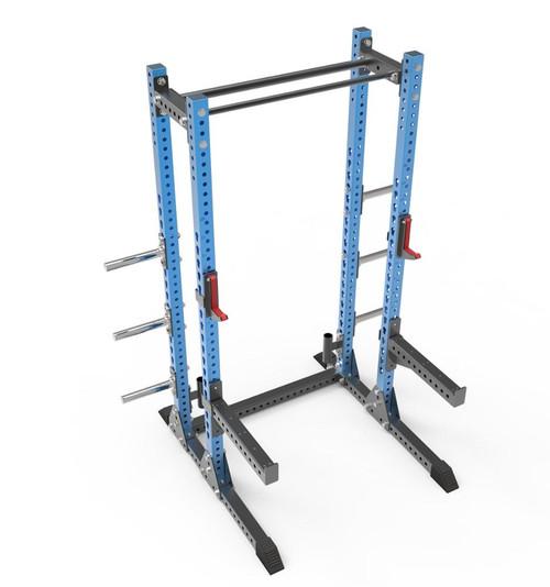 Half Power Rack  - incl storage  - BLUE/BLACK