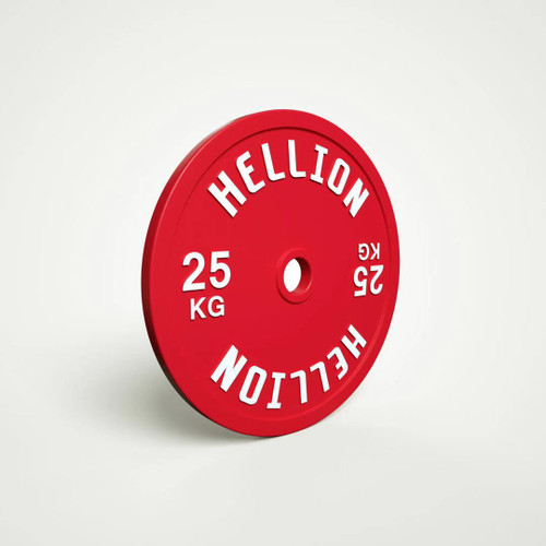 HELLION Calibrated Powerlifting Plate - 25kg