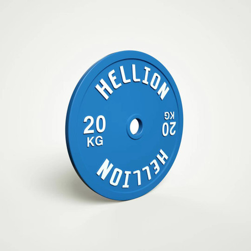 HELLION Calibrated Powerlifting Plate - 20kg (HELLION Calibrated Powerlifting Plate - 20kg)