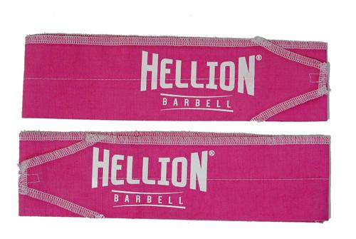 Hellion Wrist Wrap - Pink and White