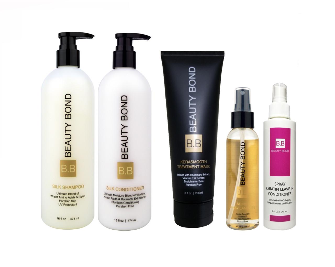 B B Instant Hair Repair Bundle Kit Www Beautybond Com