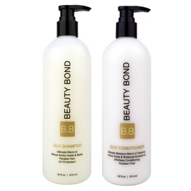 Silk protein shampoo and conditioner 16oz Set