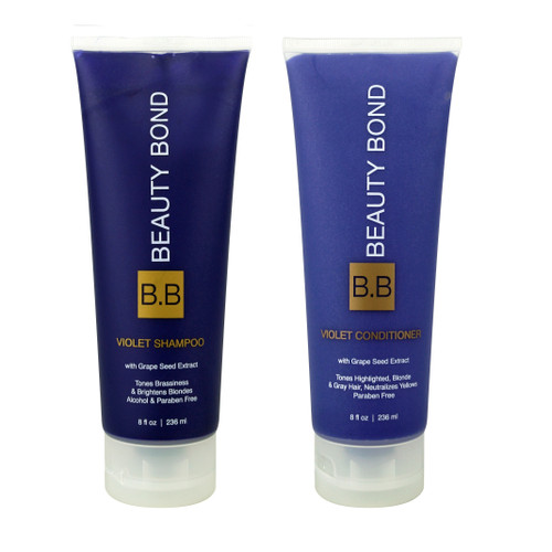 Violet Shampoo and Conditioner 8oz Set