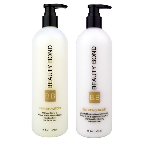Silk protein shampoo and conditioner 16oz Set