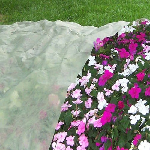 Floating Row Cover will protect flowers and ornamental plants as well as row crops.