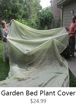 Garden Bed Plant Cover