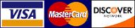 Visa - Master Card - Discover