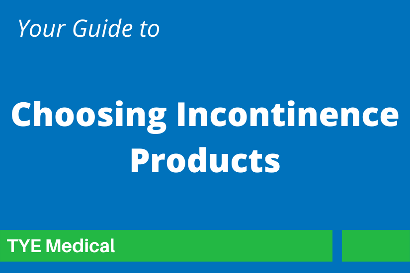 """Feature image """"Guide to Choosing Incontinence Products"""""""