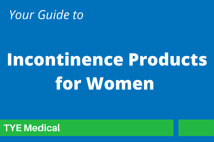 """Feature Image """"Incontinence Products for Women"""""""