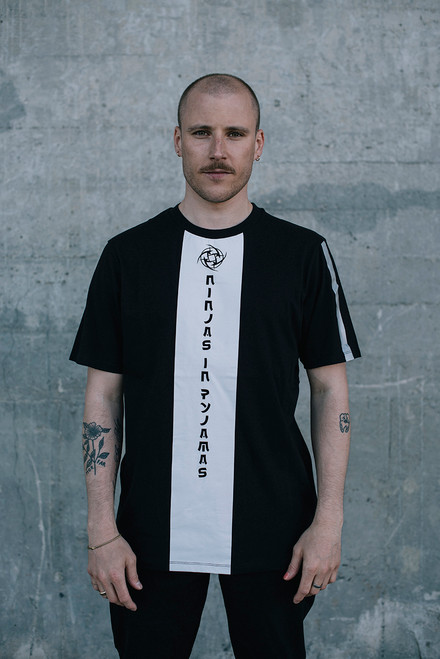 Front Panel T-shirt Midnight Collection