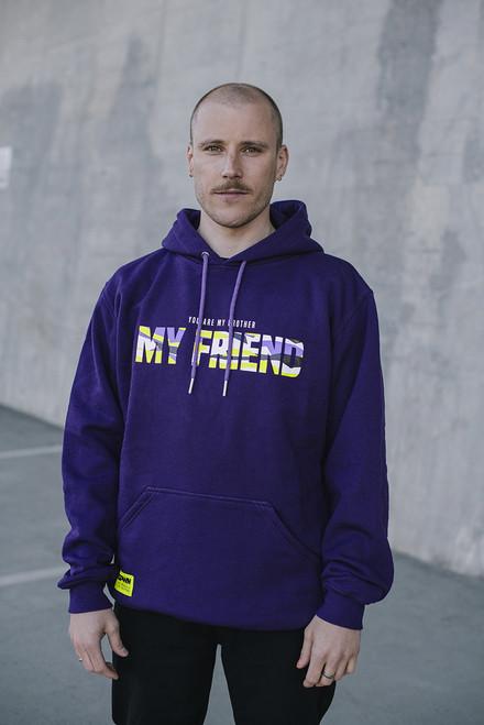 PashaBiceps My Friend Hoodie Purple