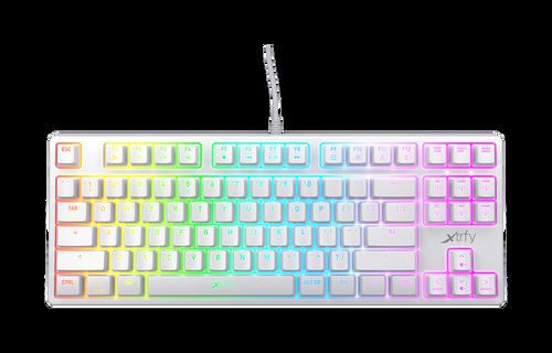 K4 RGB Tenkeyless White Edition